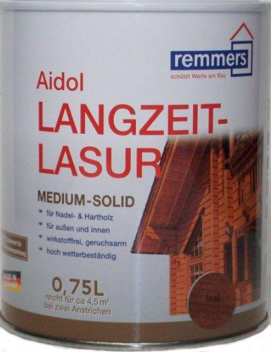 Remmers Langzeit-Lasur UV - Silbergrau 750ml
