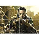 Doppelganger33 LTD Tom Hiddleston Thor Loki Movie Film Home