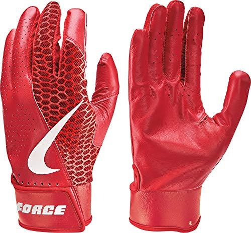Nike Adult Force Edge Leather Batting Gloves nkNBG21927 (Large)
