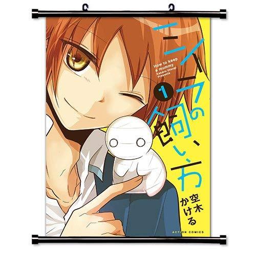 Laohujia How to Keep a Mummy (Miira no Kaikata) Anime Fabric Wall Scroll Poster (16x23) Inches