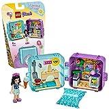 LEGO Friends Il Cubo delle Vacanze di Emma, Serie 3 Mini Set da Viaggio da Collezione, 41414