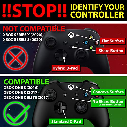 Fosmon Xbox One / One X / One S Controller Charger, [Dual Slot] High Speed Docking / Charging Station with 2 x 1000mAh Rechargeable Battery Packs (Not for Elite Controller)