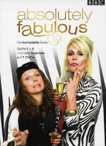 Absolutely Fabulous - Season eins bis fünf [Collector's Edition] [7 DVDs]