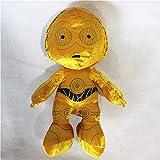 jgzwl Juguete de peluche1pc 50cm C3po Plush Toys Doll para Regalos Infantiles Y Cumpleaños