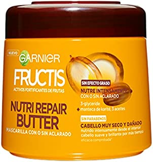 Garnier Fructis Mascarilla Nutri Repair Butter - 300 ml