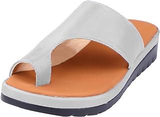 Sandales Femmes Sandales avec Plateforme Chaussures de Voyage Confortables pour la Plage Sandales d'été Espadrilles pour F...