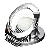 Egg Slicers,Stainless Steel Egg Slicer Cutter with Sturdy Zinc Alloy Bracket for Cutting