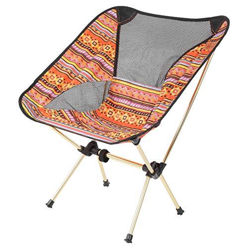 Klappstühle Falten Mondstuhl Outdoor Freizeit Einstellbar Sitzen Camping Angeln Barbecue Beach