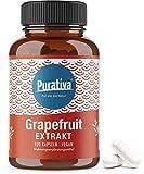 semi di pompelmo estratto - 120 capsule a 400mg - citrus paradisi - alta dose - estratto di semi di pompelmo - vegano - imbottigliato in germania