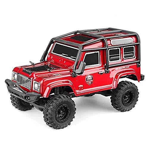 FairOnly RGT 136240 RC Car V2 1/24 2.4G 4WD 15km / h Radiocomando RC Rock Crawler Todoterreno Modelos de vehículos Juguetes Regalos