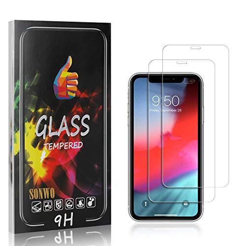 SONWO Schutzfolie Kompatibel für iPhone 11, Anti-Kratzen Displayschutzfolie für iPhone 11, 2 Stück