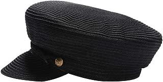 Fashion Ladies Punk Hat Buttons Adorn Newsboy Hats