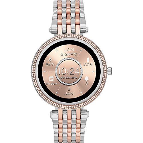 Oferta de Michael Kors Connected Smartwatch Gen 5E Darci para Mujer con tecnología Wear OS de Google, frecuencia cardíaca, GPS, NFC y notificaciones smartwatch