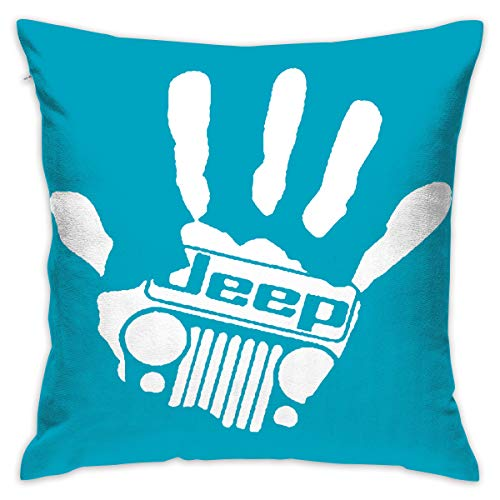 Creare Magic – Peace Love hip hop – Federa Home Decor design set cuscino custodia per divano letto auto 18 x 18 in One Size Jeep Girl 7