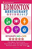 Edmonton Restaurant Guide 2019: Best Rated Restaurants in Edmonton, Canada - 500 restaurants, bars and cafés recommended for visitors, 2019