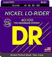 DR ベース弦 LO-RIDER ニッケルメッキ .040-.100 NLH-40