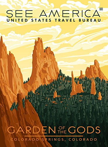 Ford Colorado Garden of The Gods Poster
