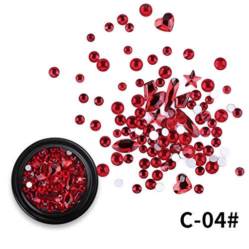 Janly Liquidación de la venta de la moda Micro taladro mezclado negro en caja rota diamante diamante de arena para mujeres arte de uñas