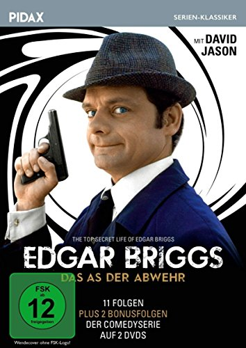Edgar Briggs - Das As der Abwehr (The Top Secret Life of Edgar Briggs) / 11 Folgen der Kultserie mit David Jason + 2 Bonusfolgen (Pidax Serien-Klassiker) [2 DVDs]