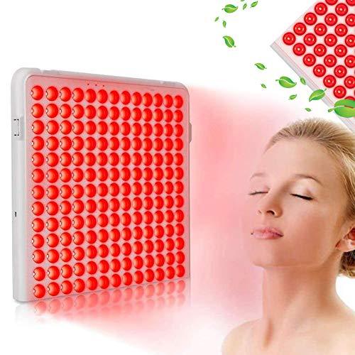 EFGSbed Beauty-Lampe, Rotlichtlampe, 24W Red LED Lichttherapie Lampe, Rot LED, Hellrot 660 nm und 850 nm von Hautproblemen und Schmerzlinderung