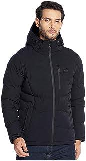 Veste chauffante /électrique unisexe en polaire polaire pour lhiver chaud USB en fibre de carbone 3 niveaux de chauffage Veste doudoune pour les sports de plein air les motos