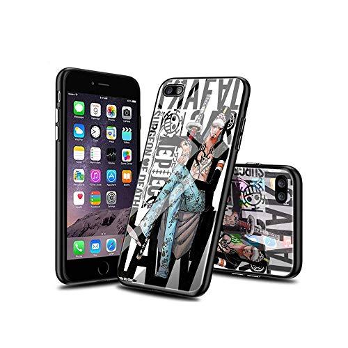 CHblINsUo Conciliable con iPhone 7 Plus Funda, iPhone 8 Plus Funda, Cárcasa Silicona Cristal Templado con Dibujos diseño Antigolpes de Protector Fundas para iPhone 7 Plus/iPhone 8 Plus #UoA002