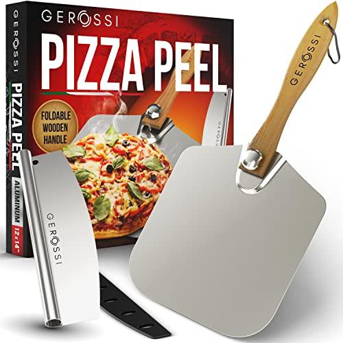 Pizzaschaufel aus Aluminium, 30,5 x 35,6...