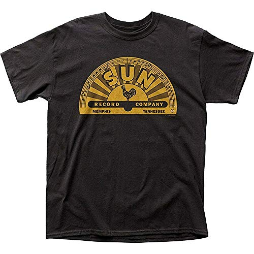 ATAT-1 Authentic Sun Records Memphis Logo T-Shirt BlackNew