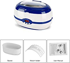 VGT-2000 Household Ultrasonic 600ML Cleaner with Digital Timer for for Jewelry, Glasses,Watches, Dentures, Tableware, Daily Necessaries, Office Supply