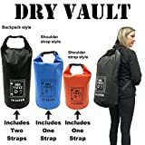 3 Bag Set - DRY VAULT – DRY BAG SETS – 500D PVC Tarpaulin –...