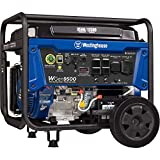 Westinghouse WGen9500 Heavy Duty Portable Generator - 9500 Rated Watts & 12500 Peak Watts - Gas...