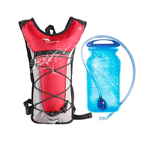 Mobihome Hydration Backpack for Running Women Small Water Packs amp Lightweight Sport Daypack amp Bike Backpacks with 2L Leak Proof Water Bladder for Hiking Cycling Climbing