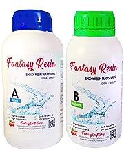 Fantasy Craft 0,75 Kg Resina Epoxi Totalmente Transparente, Alta Dureza y Resistencia. Varios Pesos Disponibles, 0.75 Kg