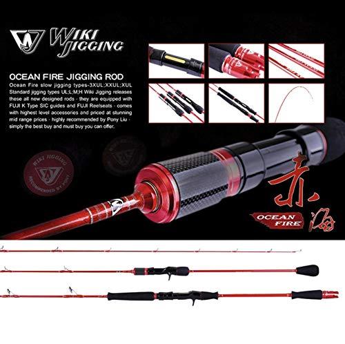 Jigging Master WIKI Jigging Slow Jigging Rod Ocean Fire, 63 S-XUL 80-180g, 63 S-XUL 80-180g