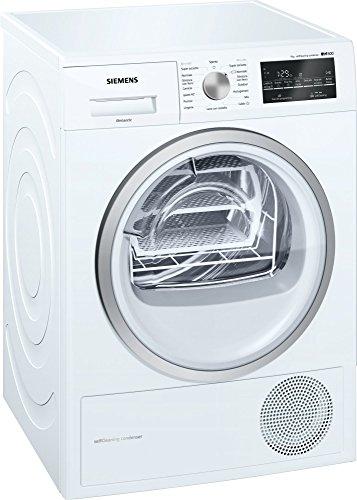 Siemens iQ500 WT47W469II Independiente Carga frontal 9kg A++ Blanco - Secadora (Independiente, Carga frontal, Bomba de calor, Blanco, Giratorio, Tocar, Derecho)