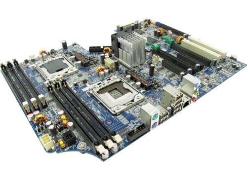 HP Z600 doppio LGA1366 Board System 461.439-001 460.840-002
