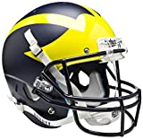 MICHIGAN WOLVERINES Schutt AiR XP Full-Size REPLICA Football Helmet (MATTE NAVY BLUE)