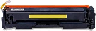 Toner Compatível com CF502A 502A para impressora HP M281nw M281fdn M281fdw M280nw M254dn M254dw M254nw / Amarelo / 1.300