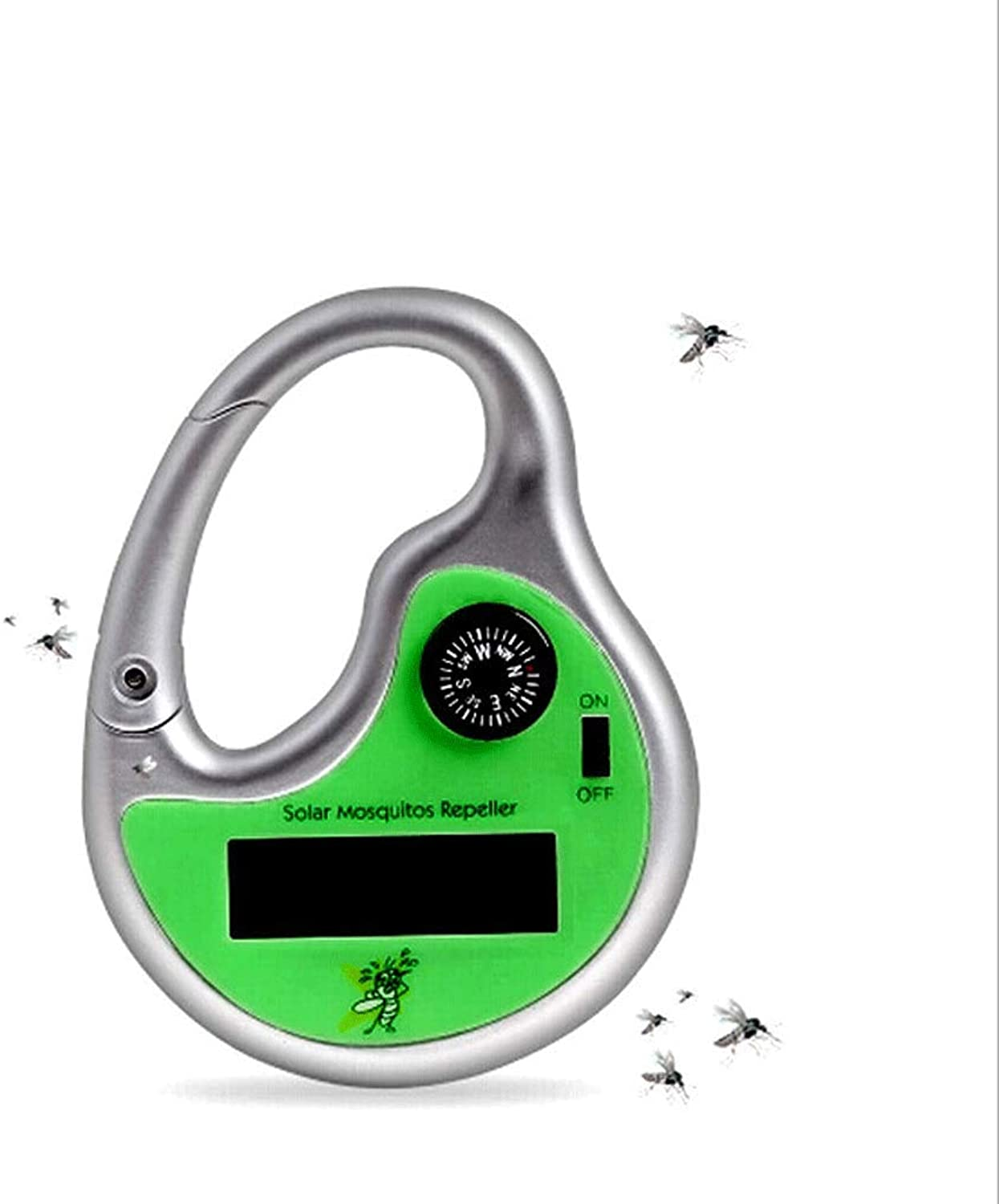 Outdoor Dedicated Solar Charging Ultrasonic Compass Mosquito Repellent Portable Repeller