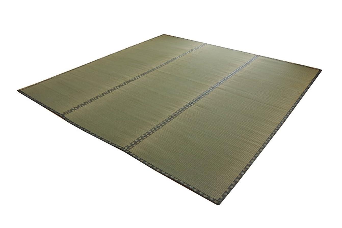 作り上げる石密度イケヒコ い草 上敷き カーペット 6畳 国産 双目織 『松』 団地間6畳 (約255×340cm)