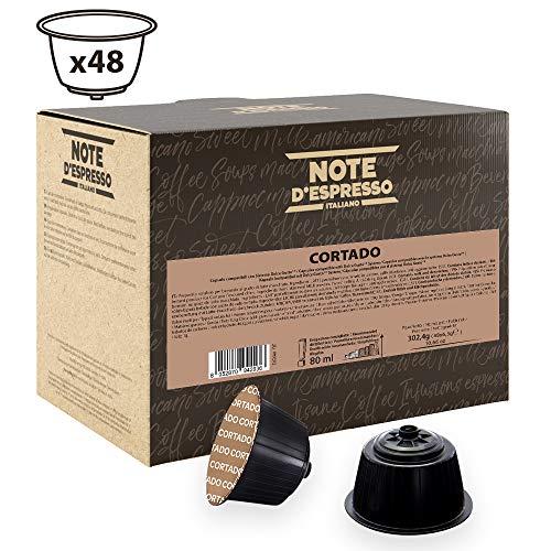 Note D'Espresso Cortado Instantkapseln, ausschließlich Kompatibel mit Nescafé* und Dolce Gusto* Kapselmaschinen 6,3g x 48 Kapseln
