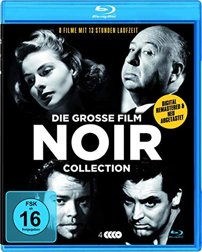 Die große Film Noir Deluxe-Collection [Blu-ray]
