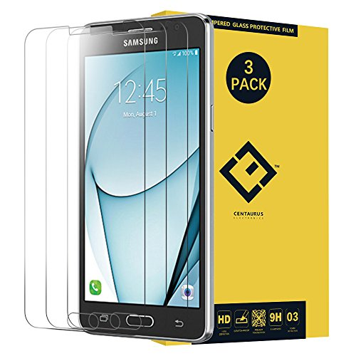 CENTAURUS Galaxy On5 G550 Glass Screen Protector,(3 Packs) Anti-Glare Hardness Tempered Glass Protective Film Replacement for Samsung Galaxy On5 SM-G550 G550FY G550T G550T1 G5500 S550TL