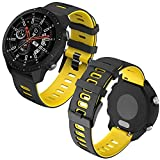 Th-some 22mm Repuesto de Correa para Samsung Galaxy Watch 3 (45mm)/Gear S3 Frontier/Classic/Galaxy...