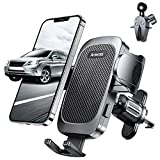 """Anwas Car Phone Holder Mount, Universal Air Vent Phone Holder, [Anti-Slip & Thick Cases Friendly] Easy Clamp Cell Phone Car Mount Compatible with 4.0""""-7.0"""" Smartphone"""