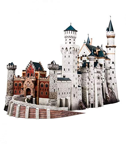 CLEVER PAPER - Puzzles 3D Castillo de Neuschwanstein, Alemania (14157)
