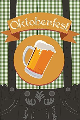Schatzmix Oktoberfest blechshild, Lederhose, Bierfest, biergarten, Bayern, Bavaria, Trachten