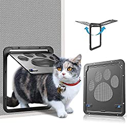 OWNPETS Magnetic Screen Door for Small Dog