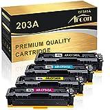 Arcon Kompatibel Toner Cartridge Replacement für HP 203A 203X CF540A CF540X HP M281FDW M254DW Color Laserjet Pro MFP M281FDW M281FDN M281CDW M280NW M254DW M254NW M254DN CF541A CF542A CF543A Toner-4PK