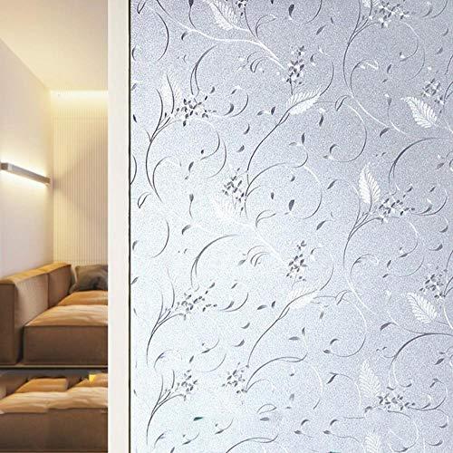 Electrostatic No Glue Frosted Window Stickers Bathroom Toilet Glass Film Anti-Exposure Anti-Peep Self-Adhesive Window Paper